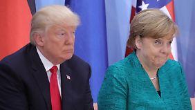 Abschluss-Bilanz zum G20: Merkel betont Differenzen zu USA