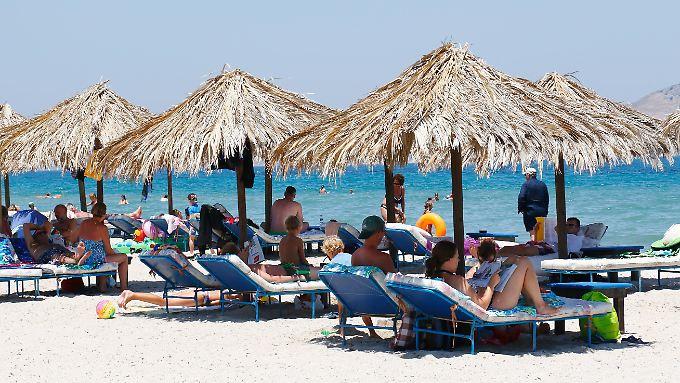 Auch Griechenland ist bei deutschen Urlaubern begehrt.