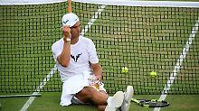 Rafael Nadal ist in Wimbledon überraschend gegen den Luxemburger Gilles Muller im Achtelfinale ausgeschieden.