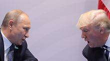 """Zwei vom gleichen Schlag: Trump versteht sich mit Putin """"exzellent"""""""