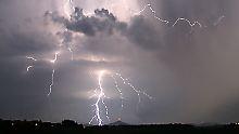 Blitz und Donner: Gewitter:Darf ich eigentlich ...?