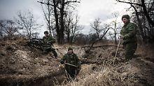 Arbeitslager in der Ostukraine?: Häftlinge berichten von Zwangsarbeit