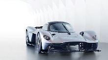 Mit dem Aston Martin Valkyrie wollen die Briten am Porsche 918, McLaren P1 und LaFerrari vorbeifahren.