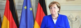 """""""Ernsthafte Bedrohung"""": Merkel für schärfere Nordkorea-Sanktionen"""