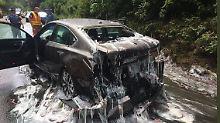 Glitschiger Unfall in den USA: Schleimaale machen Highway zur Rutsche