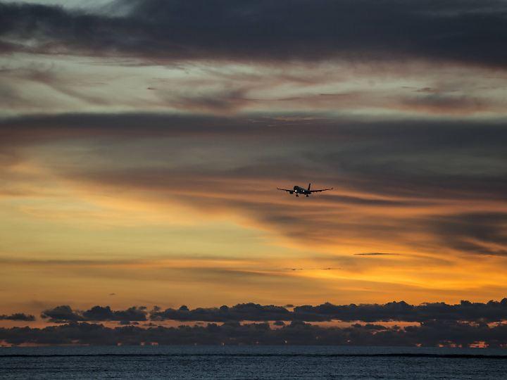 Die Flugreise ist die klimaschädlichste Art zu reisen.