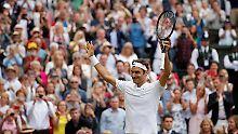 Schweizer im Wimbledon-Finale: Federer eilt, Becker ist aufgeregt