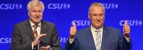 """""""Weiß, wie jeder gewählt hat"""": CSU-Spitzenkandidat holt 100 Prozent"""