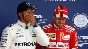"""Danner zum Silverstone-Qualifying: Hamilton und Vettel """"geben sich richtig Saures"""""""