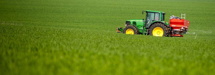 Digitaltechnik kann Landwirten bei einer effizienten Düngung helfen.