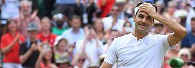 Das ist doch nicht die Möglichkeit: Roger Federer.