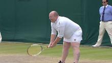 Erst vorlaut, jetzt berühmt: Der wahre Held von Wimbledon