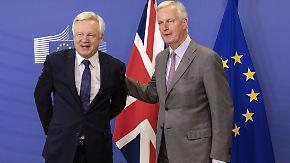 Neue Runde der Brexit-Verhandlungen: EU und Großbritannien gehen ans Eingemachte