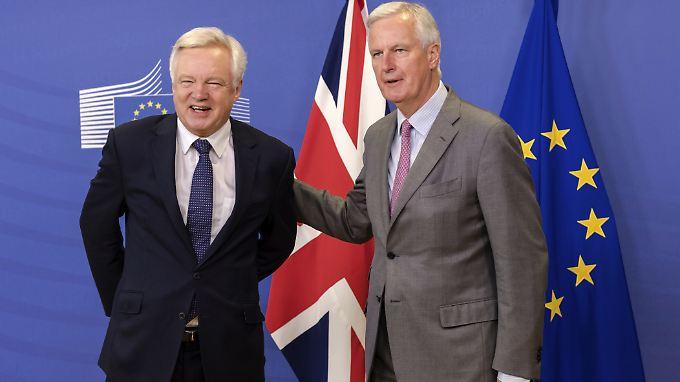 Neue Runde der Brexit-Verhandlungen: EU und Großbritannien machen sich ans Eingemachte