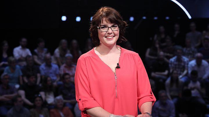 Die Kandidatin Jennifer Kiesenbauer nahm 11.000 Euro mit nach Hause.