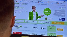 Was ist dran am Negativkredit?: Online-Portal lockt mit -0,4 Prozent Zinsen