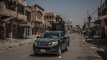 Offiziell erklärte die irakische Regierung Mossul für befreit.