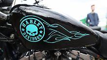Die Harley-Kunden sind in die Jahre gekommen.