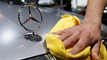 Diesel-Affäre sorgt für Druck: Daimler bessert drei Millionen Autos nach