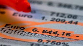 Gefahr bei Kontoüberziehung: Kleine Banken langen beim Dispozins kräftig zu
