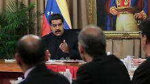 """Maduro weist Einmischung zurück: Venezuela nennt USA """"rassistisches Empire"""""""