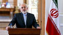 "Iran kündigt Strafmaßnahmen an: Teheran beklagt ""illegale"" US-Sanktionen"
