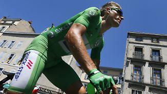 16. Etappe der Tour de France: Wind weht Kittels Sprint-Vorsprung davon