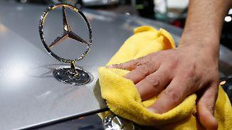 Millionenschwere Umrüstungen: Daimler startet Offensive gegen Dieselskandal