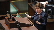 """""""Werden unseren Plan umsetzen"""": Polnische Regierung bleibt uneinsichtig"""