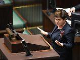 Polen ignoriert Sanktionsdrohung: Sejm beschließt umstrittene Justizreform