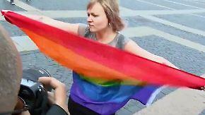 Abgelehnt und verfolgt: Homosexualität ist in Russland noch immer ein Tabuthema