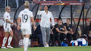 """""""Locker spielen und torgeil sein"""": DFB-Frauen gehen offensiv in zweites EM-Spiel"""