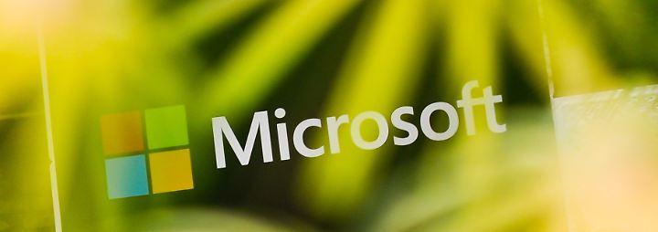 Gewinn mehr als verdoppelt: Cloud-Geschäft beschert Microsoft starke Quartalszahlen