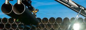Sorge um Gaslieferungen: EU warnt USA vor Russland-Sanktionen