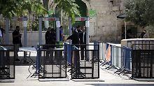 Streit um den Tempelberg: Der Nahost-Konflikt brodelt wieder