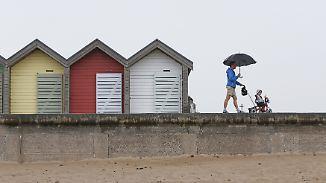 Regen und Gewitter: Sonntag kühlt ab
