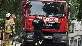 Von 15 bis 21.30 Uhr verzeichnete die Feuerwehr in Berlin 435 wetterbedingte Einsätze.