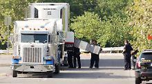 Zehn Tote in Texas: Schlepper-Lkw-Fahrer formell beschuldigt
