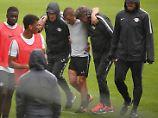 Der Sport-Tag: Leipzigs Keita sorgt mit Brutalo-Foul für Trainingsabbruch