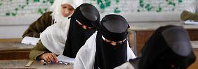 Vollverschleierung an Schulen: Türkische Gemeinde unterstützt Burka-Verbot