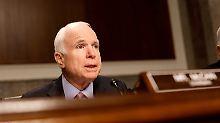 Hirntumor vollständig entfernt: US-Senator McCain kommt zurück