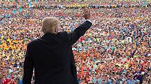 Zehn Tweets am Morgen: Was Trump der Welt zu sagen hat