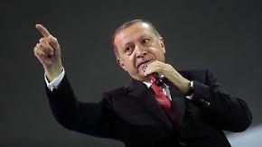 """""""Erwischte Agenten"""" in der Türkei: Erdogan wettert wieder gegen Deutschland"""
