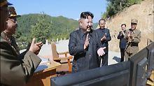 """Das Nordkorea-Problem der USA: """"Die Zeit ist nicht auf unserer Seite"""""""