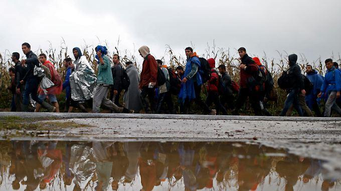 Kroatien hatte im Oktober 2015 die Grenze geöffnet.