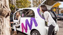Dank Berliner Carsharing-App: Peugeot vermietet Mercedes und BMW