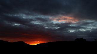 Kurze Regenpausen in der Nacht: Sonne mischt sich Donnerstag in die Wolken