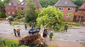 Sturm, Hagel, Überschwemmung: Wer zahlt die Unwetterschäden?