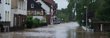 Video: Dauerregen bringt Hildesheim in bedrohliche Lage