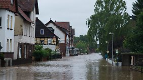 Deutschland unter Dauerregen: Goslar ruft Katastrophenalarm aus